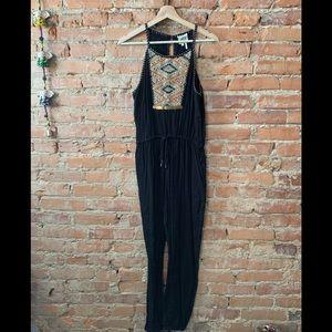 Anthropologie Embellished Jumpsuit